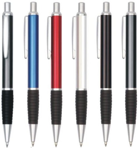 Arc Satin Trim Metal Pen - Promotional Products