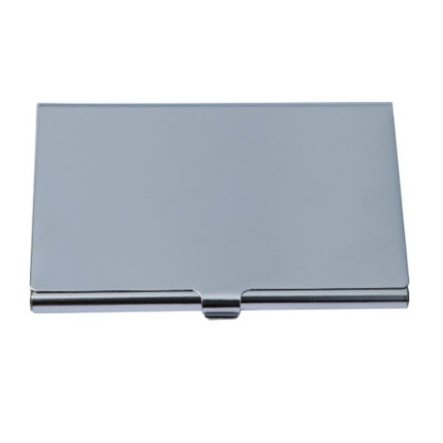 Arc Shiny Business Card Holder - Promotional Products