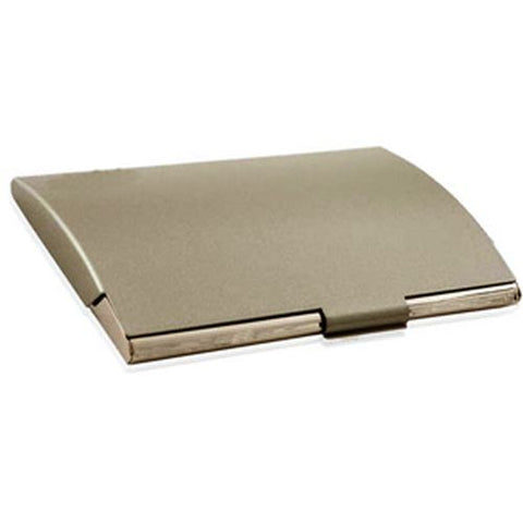 Arc Stainless Steel Business Card Holder - Promotional Products