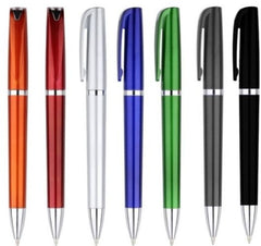 Arc Twist Action Plastic Pen - Promotional Products
