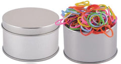 Bleep Loom Bands in Round Tin - Promotional Products
