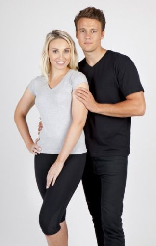 Aston V Neck TShirts - Corporate Clothing