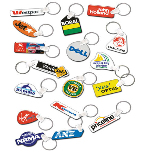 Australian Made Flexi Tag Keyring
