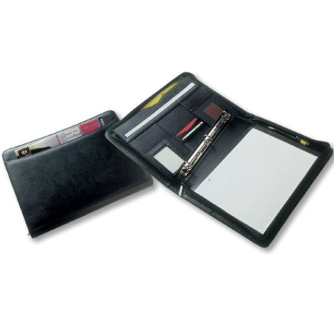 Avalon A4 Leather Look Ring Binder Compendium - Promotional Products