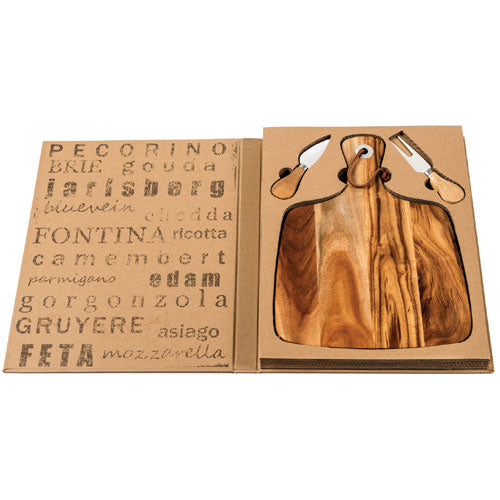 Oxford Deluxe Cheeseboard Gift Set
