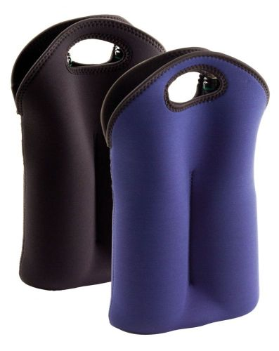 Avalon Neoprene Double Bottle Wine Carrier - Promotional Products