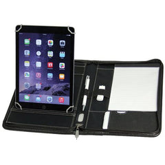 Avalon Tablet Compendium with Powerbank Holder - Promotional Products