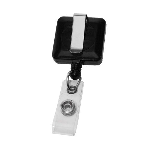 Avalon Square Retractable Badge Holder - Promotional Products