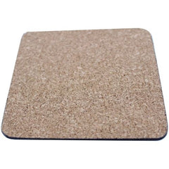 Cork Backed Timber Drink Coaster - Promotional Products