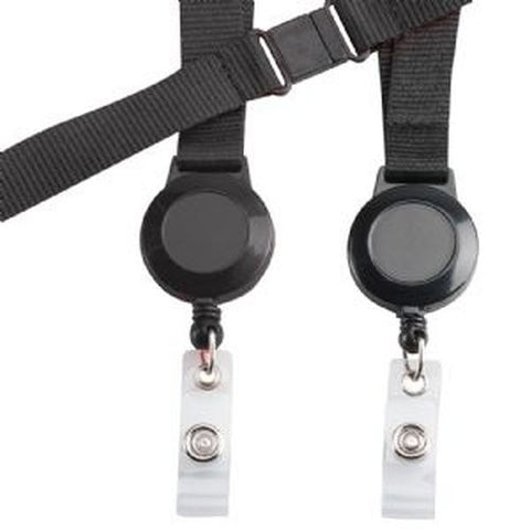 Avalon Retractable Badge Holder with Neck Cord - Promotional Products