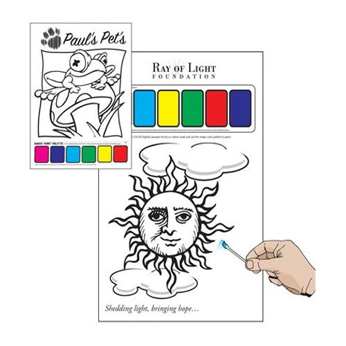 Bleep Painting Sheet - Promotional Products
