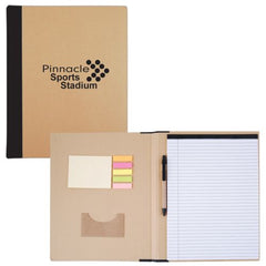 Bleep A4 Eco Notebook with Pen - Promotional Products