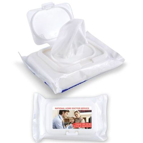 Bleep Anti Bacterial Wipes in Pouch - Promotional Products