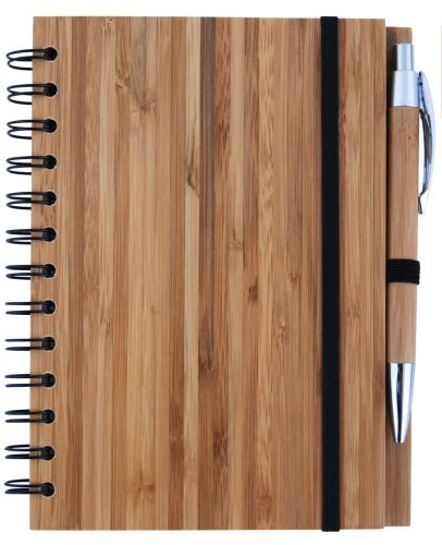 Bleep Bamboo Notebook - Promotional Products