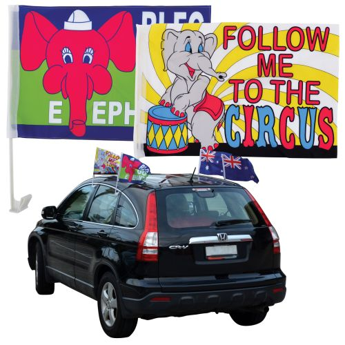 Bleep Car Flag - Promotional Products