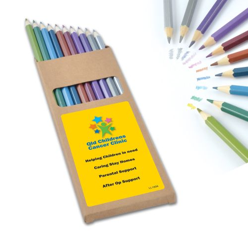 Bleep Metallic Colouring Pencils - Promotional Products