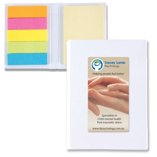 Bleep Sticky Flag Notebook - Promotional Products
