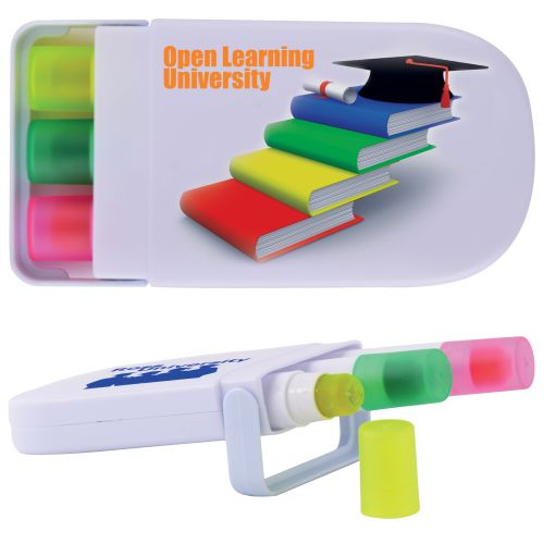 Bleep Wax Highlighter Set - Promotional Products