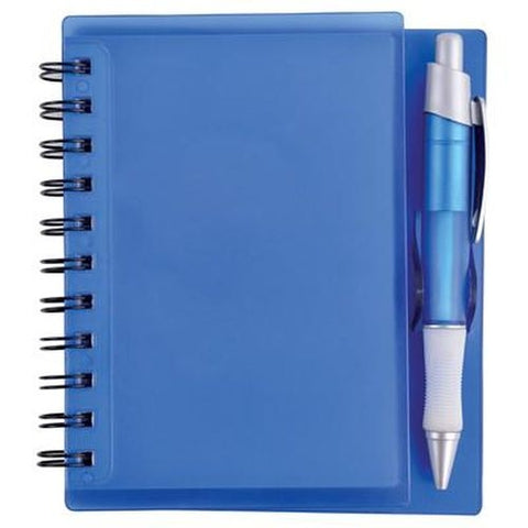 Bleep Spiral Notebook with Pen - Promotional Products