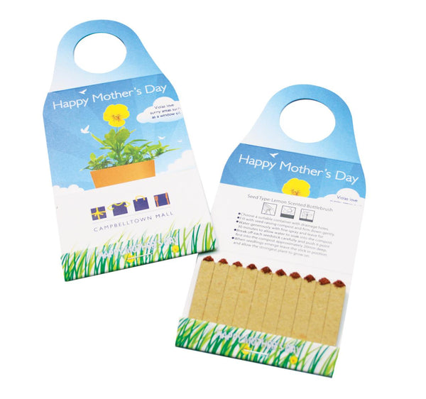 Seed Bottle Neck Hanger - Promotional Products