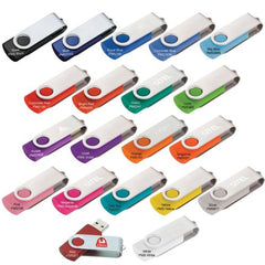 Budget Swivel USB Flash Drive - Promotional Products