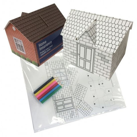 Build Your Own House Money Box - Promotional Products