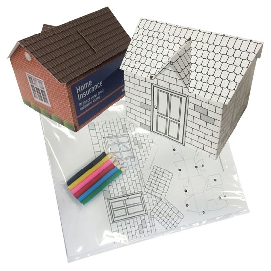 Build Your Own House Money Box