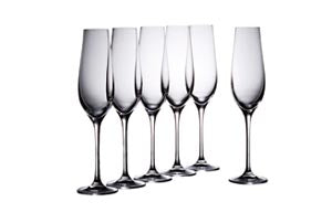 Eclipse Champagne Flutes 180ml - Promotional Products