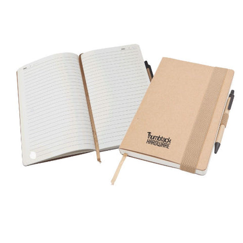 Classic Large Recycled Notepad - Promotional Products