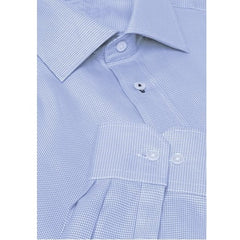 Phoenix Premium 100% Cotton Houndstooth Corporate Shirt - Corporate Clothing