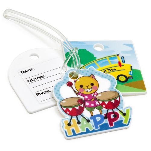 Custom Shape Acrylic Luggage Tag - Promotional Products