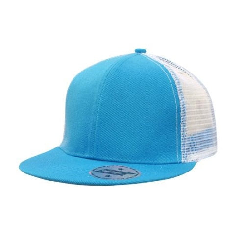 Generate Flat Peak Cap with Mesh Back - Promotional Products
