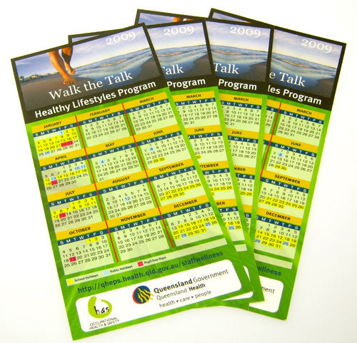 DL Fridge Calendar with Magnet - Promotional Products