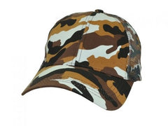 Icon Premium Camouflage Cotton Trucker Cap - Promotional Products
