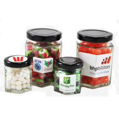 Devine Hexagon Lolly Jar - Promotional Products