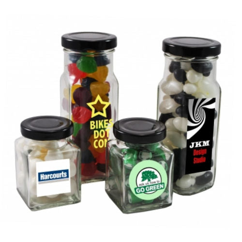 Devine Square Lolly Jar - Promotional Products