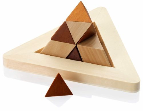 Dezine 3D Wooden Desk Puzzle - Promotional Products