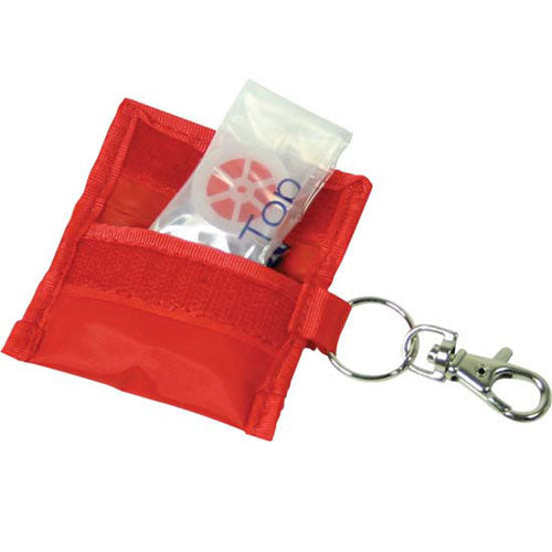 Dezine CPR Mask with Keyring - Promotional Products