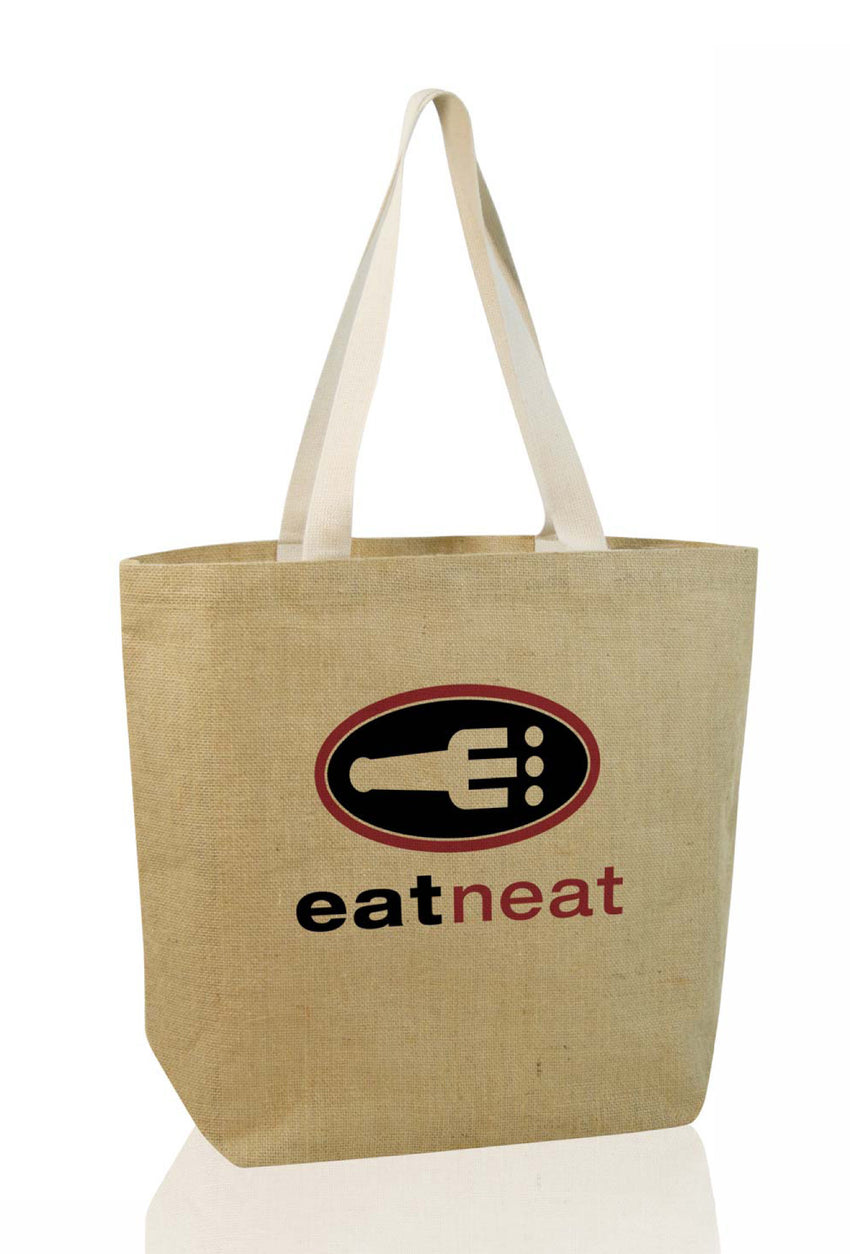 Dezine Eco Jute Shopper Bag - Promotional Products