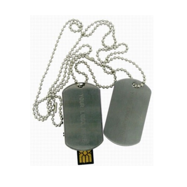 Dog Tag USB Flash Drive - Promotional Products