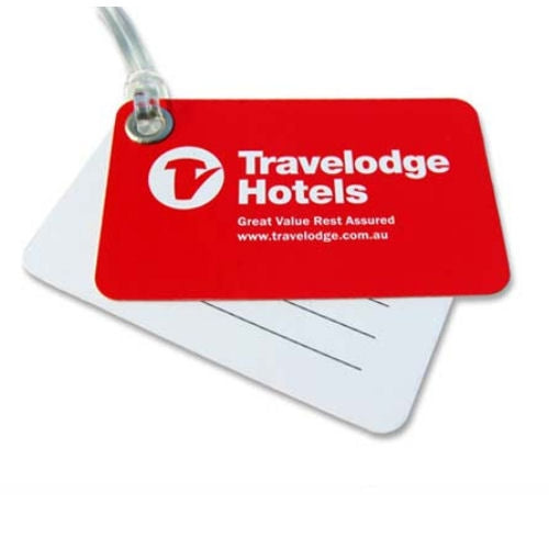 Double Panel Luggage Tag - Promotional Products