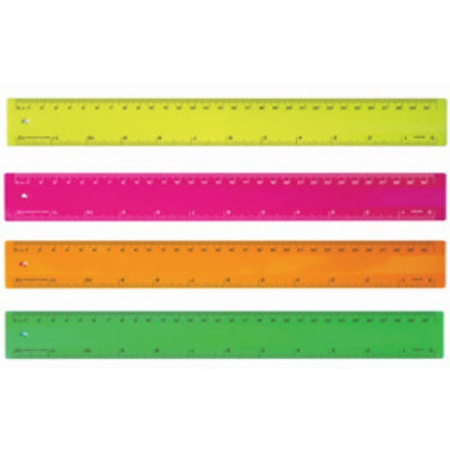Eclipse 30cm Fluro Rulers - Promotional Products