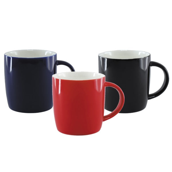 Eclipse Contrast Bone China Coffee Cup - Promotional Products