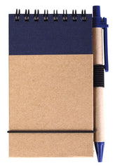 Bleep Eco Pocket Notebook with Pen - Promotional Products