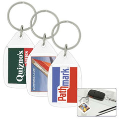 Econo Tear Drop Acrylic Keyring - Promotional Products