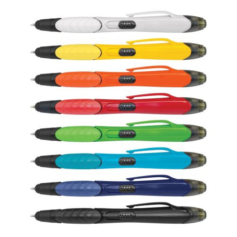 Eden 3 in 1 Highlighter Pen with Stylus - Promotional Products