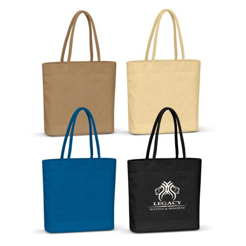 Eden Coloured Jute Tote Bag - Promotional Products