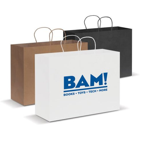 Eden Extra Large Paper Cary Bag - Promotional Products