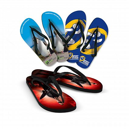 Eden Full Colour Thongs - Promotional Products