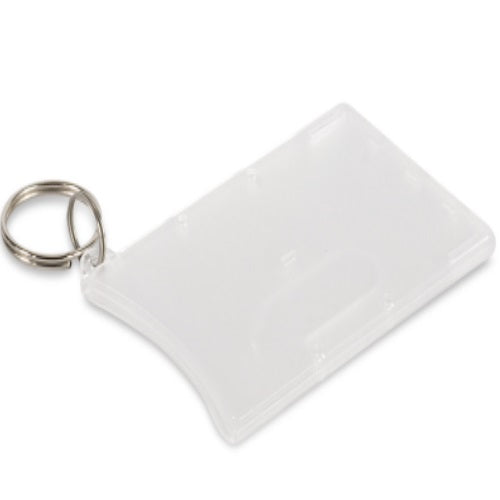 Eden Hard Plastic Single Card Holder - Promotional Products